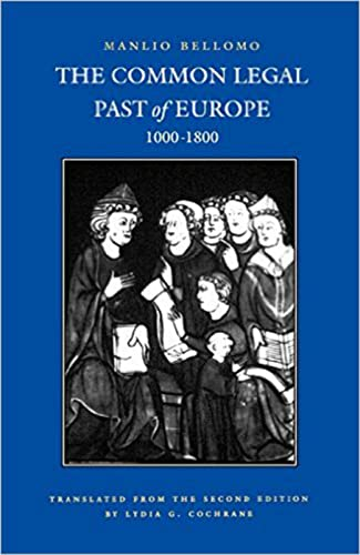9780813208145: The Common Legal Past of Europe, 1000-1800 (Studies in Medieval and Early Modern Canon Law)