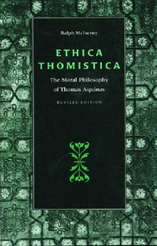 9780813208978: Ethica Thomistica: Moral Philosophy of Thomas Aquinas