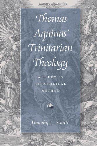 9780813210971: Thomas Aquinas' Trinitarian Theology: A Study in Theological Method
