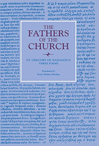 9780813213057: Three Poems (Fathers of the Church Patristic Series)