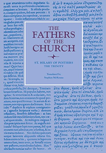 9780813213217: The Trinity (Fathers of the Church Patristic Series)