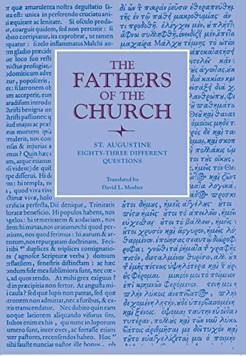 9780813213231: Eighty-Three Different Questions (Fathers of the Church Patristic Series)