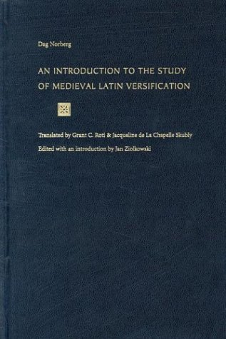 9780813213354: An Introduction to the Study of Medieval Latin Versification
