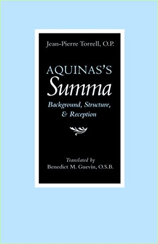 9780813213989: Aquinas's Summa: Background, Structure, and Reception