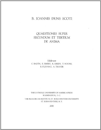 9780813214221: Quaestiones Super Libros de Anima Aristotelis (B. Ioannis Duns Scoti Opera Philosophica)