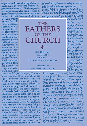 9780813214474: Homilies, Volume 2 (Homilies 60-96) (Fathers of the Church Patristic Series)
