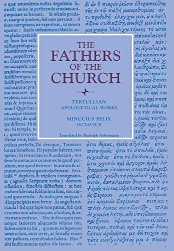 9780813215556: Apologetical Works; Octavius (Fathers of the Church Patristic Series)