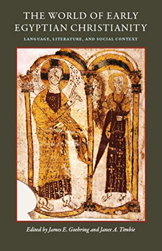 9780813215792: The World of Early Egyptian Christianity: Language, Literature, and Social Context (CUA Studies in Early Christianity)