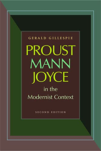 9780813217888: Proust, Mann, Joyce in the Modernist Context, Second Edition