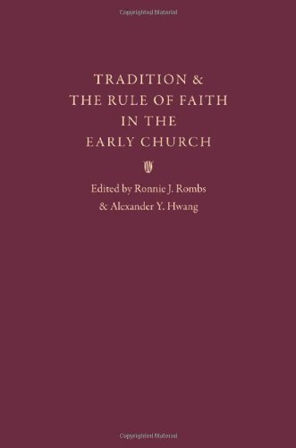9780813217932: Tradition & the Rule of Faith in the Early Church: Essays in Honor of Joseph T. Lienhard, S. J.
