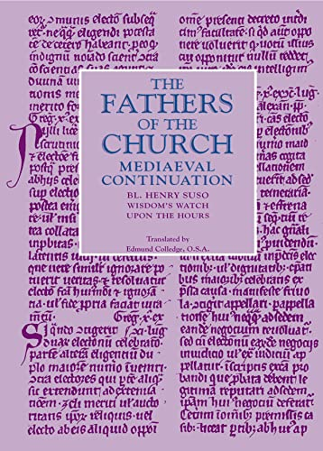 9780813226422: Wisdom's Watch Upon the Hours: The Fathers of the Chuch