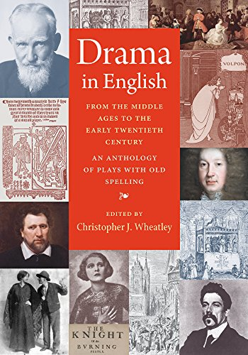 9780813227870: Drama in English From the Middle Ages to the Early Twentieth Century: An Anthology of Plays with Old Spelling