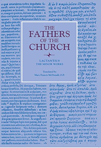 9780813228266: The Minor Works (Fathers of the Church Patristic Series)