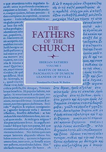 9780813228280: Iberian Fathers, Volume 1