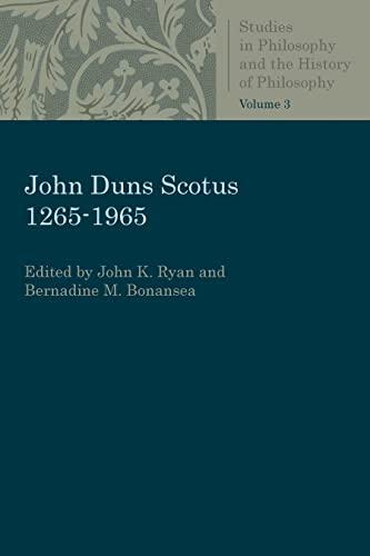 John Duns Scotus 1265-1965: Ryan, John K.