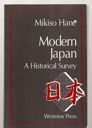9780813303161: Modern Japan: A Historical Survey
