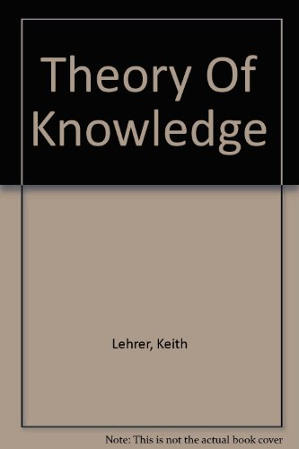 9780813305707: Theory Of Knowledge (Dimensions of Philosophy)