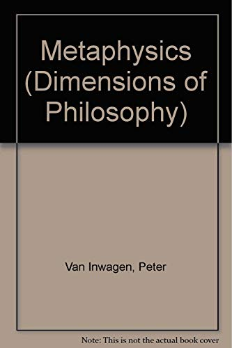 9780813306353: Metaphysics (Dimensions of Philosophy)