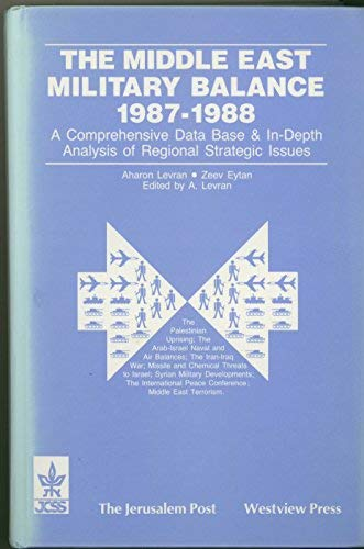 The Middle East Military Balance 1987-1988: Levran, Aharon