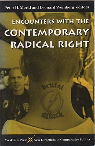9780813314464: Encounters With the Contemporary Radical Right (New Directions in Comparative Politics)