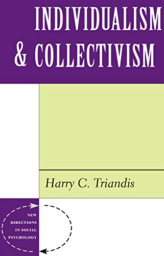 9780813318509: Individualism And Collectivism (New Directions in Social Psychology)