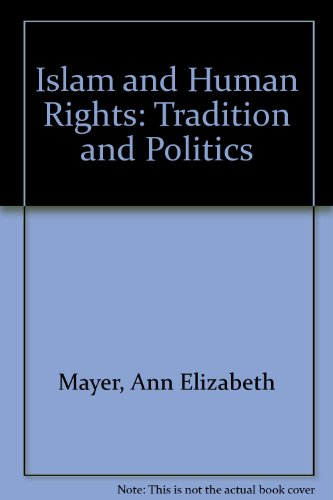 9780813321301: Islam And Human Rights: Tradition And Politics, Second Edition