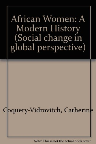 9780813323602: African Women: A Modern History (Social Change in Global Perspective)