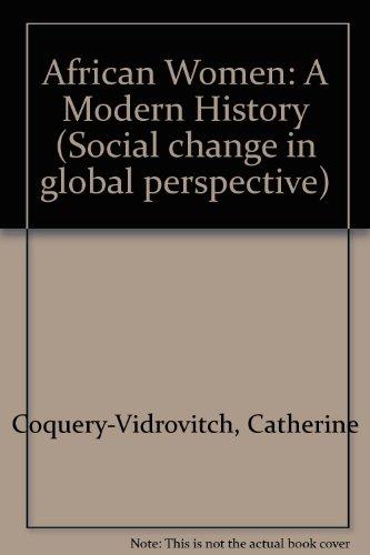 9780813323602: African Women: A Modern History