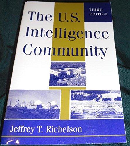 9780813323763: The U.s. Intelligence Community: Third Edition