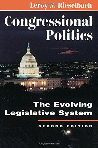 9780813324586: Congressional Politics: The Evolving Legislative System (Transforming American Politics)