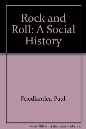 9780813327242: Rock and Roll: A Social History