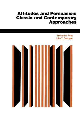 9780813330051: Attitudes And Persuasion: Classic And Contemporary Approaches