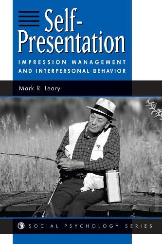 9780813330402: Self Presentation: Impression Management and Interpersonal Behavior (Social Psychology Series)