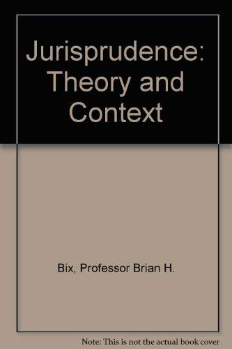 9780813332055: Jurisprudence: Theory And Context