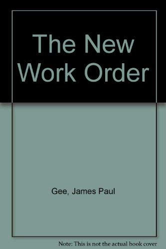 9780813332604: The New Work Order