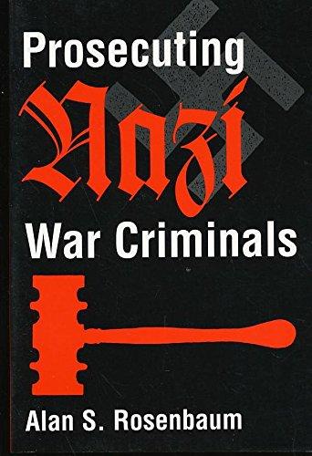 9780813332871: Prosecuting Nazi War Criminals