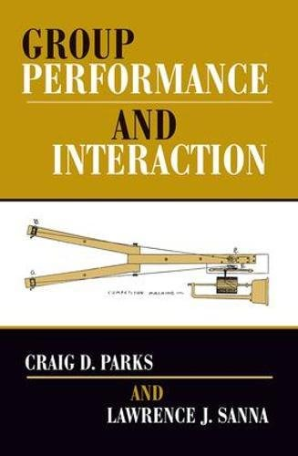 9780813333205: Group Performance And Interaction