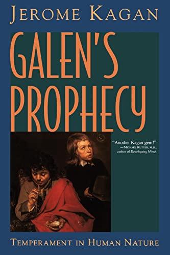 9780813333557: Galen's Prophecy: Temperament In Human Nature