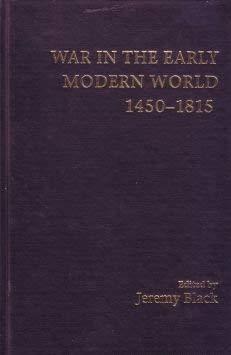 9780813336121: War In The Early Modern World, 1450-1815