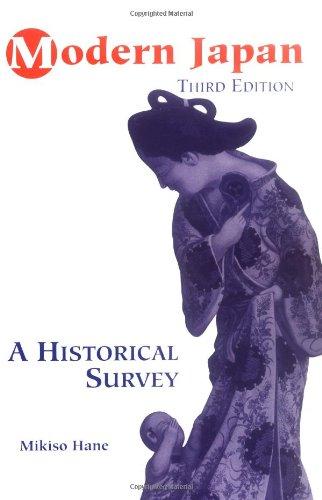 9780813337562: Modern Japan: A Historical Survey, Third Edition