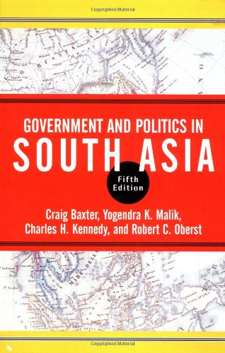 9780813339016: Government And Politics In South Asia: Fifth Edition