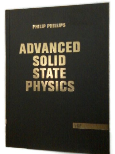 9780813340159: Advanced Solid State Physics