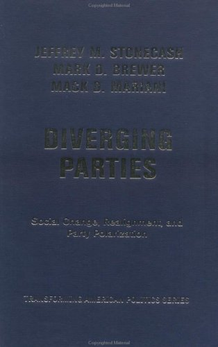 9780813340289: Diverging Parties: Realignment, Social Change, and Political Polarization