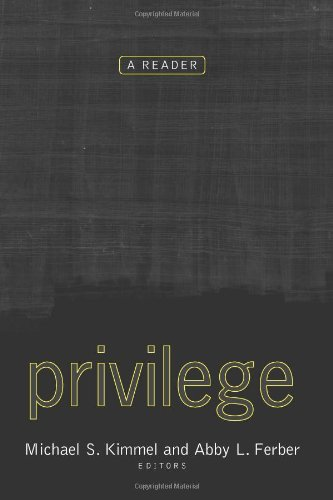 9780813340562: Privilege: A Reader
