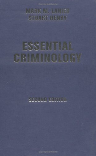 9780813340890: Essential Criminology, Second Edition