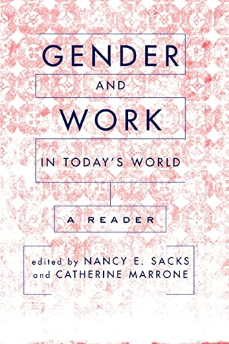 9780813341927: Gender And Work In Today's World: A Reader