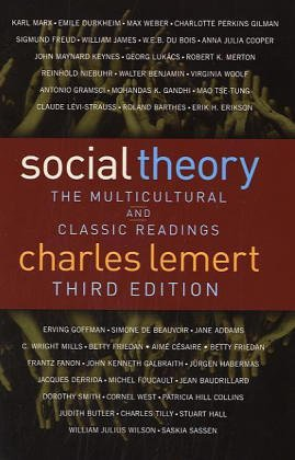 9780813342177: Social Theory: The Multicultural and Classic Readings