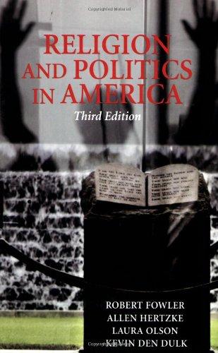 9780813342290: Religion And Politics In America,