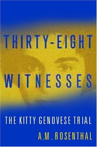 9780813342900: Thirty Eight Witnesses