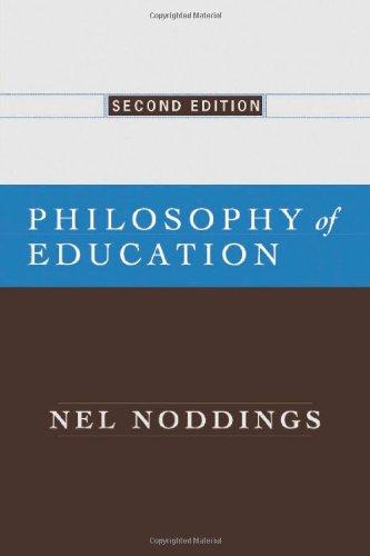 9780813343235: Philosophy of Education